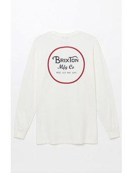 Wheeler Long Sleeve T Shirt by Brixton