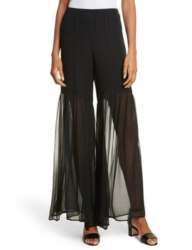 Summer Sheered Pants by Caroline Constas