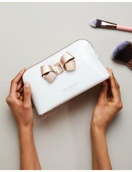 Ted Baker Structured Bow Makeup Bag by Ted Baker
