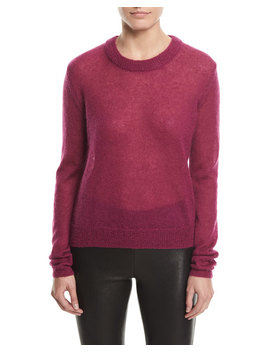 Rosalie Alpaca Blend Crewneck Sweater by Elizabeth And James