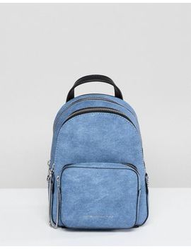 Juicy Couture Denim Mini Zippy Backpack by Juicy Couture