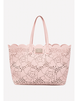 Charlotte Laser Cut Tote by Bebe