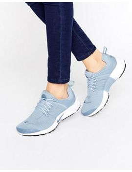 Nike Air Presto Sneakers In Blue Grey by Nike