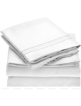 Mellanni Fine Linens 1800 Thread Count 100% Brushed Microfiber Sheet Set & Reviews by Mellanni