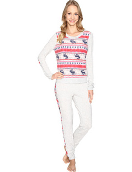 Packaged Lounge Set   Microfleece/French Terry 3591265 F by Jane & Bleecker