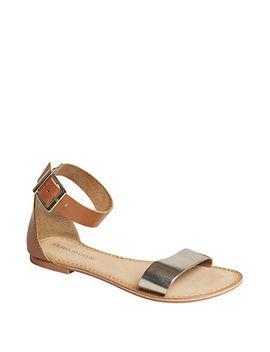 Elsa Leather Sandals by Vero Moda