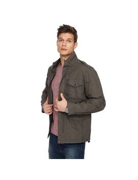 Red Herring   Big And Tall Khaki Army Jacket by Red Herring
