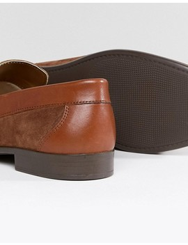 Silver Street Tassel Loafers In Tan Suede by Shoes