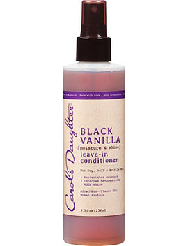 Black Vanilla Moisture &Amp; Shine Leave In Conditioner by Carol's Daughter
