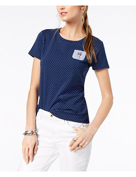 Textured Pocket T Shirt, Created For Macy's by Tommy Hilfiger