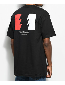 The Hundreds Wildfire Black T Shirt by The Hundreds