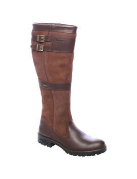 Dubarry Longford Knee High Boots, Walnut by Dubarry