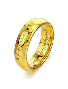 Elove Jewelry Tungsten Carbide Steel Lord Rings by Elove