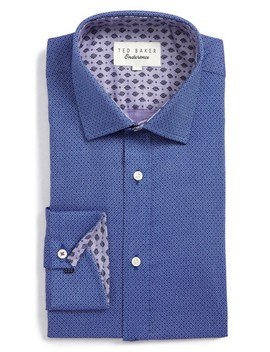 Endurance Murphy Trim Fit Dress Shirt by Ted Baker London