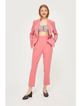 High Waisted Suit Trousers by Topshop