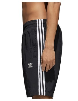 Three Stripe Swim Trunks by Adidas Originals