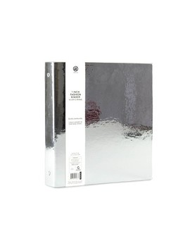 "1"" 3 Ring Binder Metallic   U Brands by U Brands"