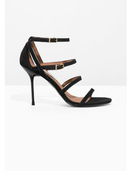 Quad Strap Stiletto Heels by & Other Stories