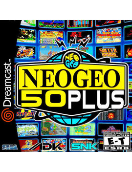 Neo Geo 50 Plus Sega Dreamcast Video Game. Free Shipping! by Sega