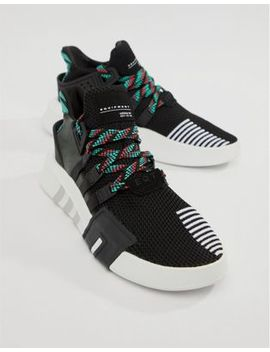 Adidas Originals Eqt Basket Adv Sneakers In Black Cq2993 by Adidas Originals