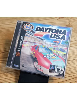 Daytona Usa (Sega Dreamcast, 2001) *Tested* Cib by Ebay Seller