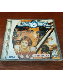 Soul Calibur For Sega Dreamcast Complete Free Shipping by Ebay Seller