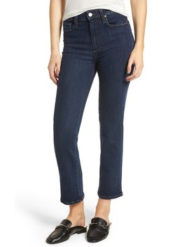 Margot High Waist Ankle Straight Leg Jeans by Paige