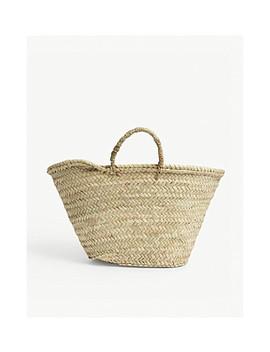 Medium Woven Basket Bag by Edit58