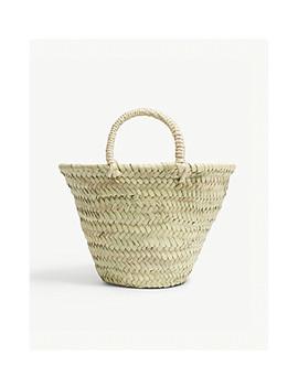 Mini Woven Basket Bag by Edit58