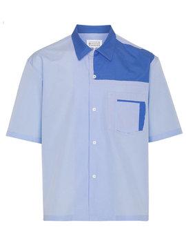 Panelled Bowling Shirthome Men Clothing Shirts by Maison Margiela
