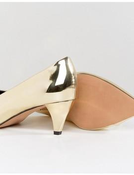 Asos – Southern – Spitze Schuhe Mit Kittenheel Absatz In Weiter Passform by Asos Collection
