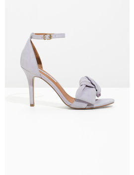 Knotted Heeled Sandals by & Other Stories