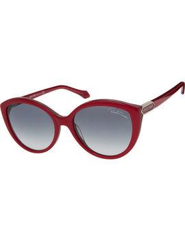 Deep Red Cat Eye Sunglasses by Roberto Cavalli