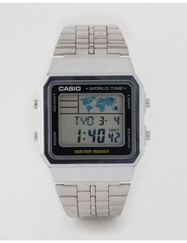 Casio Multi Function Silver Watch A500 Wea 1 Ef by Casio