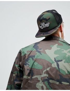 Vans Classic Patch Trucker Cap In Camo by Vans