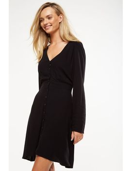Woven Bella Long Sleeve Tea Dress by Cotton On