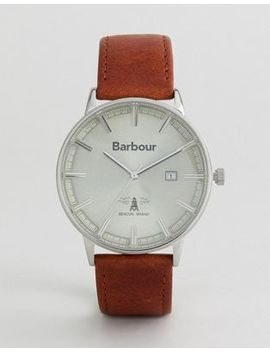 Barbour Whitburn Watch With Tan Strap by Barbour