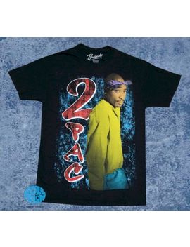 New 2 Pac All Eyez On Me 1996 2 Pac 90s Rap Vintage T Shirt by Bravado