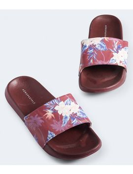 Printed Slide Sandal by Aeropostale