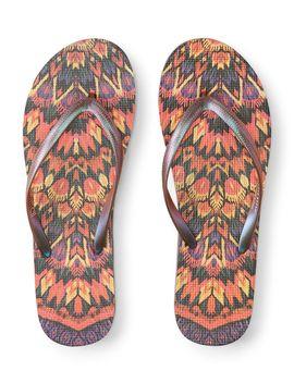 Lld Aztec Flip Flop by Aeropostale