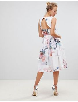little-mistress-floral-print-midi-pleated-dress by little-mistress