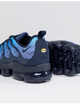 Nike Air Vapormax Plus Trainers In Blue 924453 401 by Nike