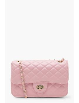 Yasmin Square Quilted Cross Body by Boohoo