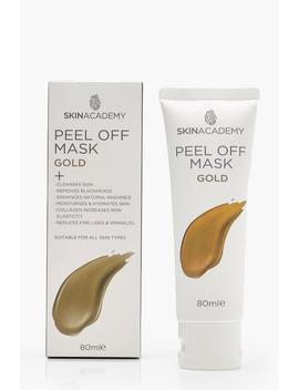 Skin Academy Peel Off Gold Mask by Boohoo