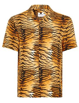 Tiger Print Short Sleeve Shirt by Topman