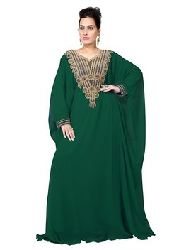Bedi's Uae Style Women's Farasha Maxi Arabic Islamic Kaftan Long Dress   One Size (Kaf 2940) by Amazon