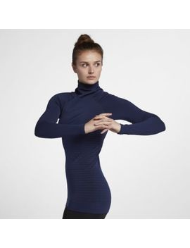 Nike Pro Hyper Warm Women's Long Sleeve Training Top. Nike.Com Au by Nike