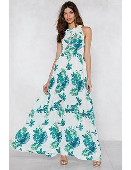 Do You No Palm Maxi Dress by Nasty Gal