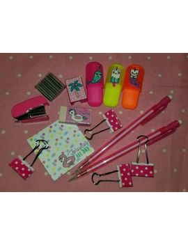 Cute School Supplies Office Supplies Lot Of 23 Pieces Unicorn & Flamingo Theme by Ebay Seller