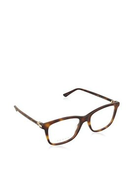 Gucci Gg0018 O Plastic Square Eyeglasses 52mm by Gucci
